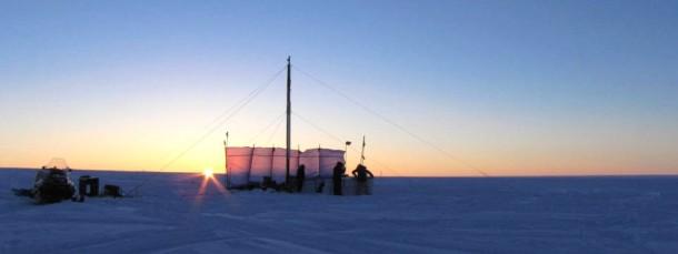 Eisbohrung auf Grönland