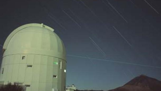 Der Laser-Coup über dem Atlantik