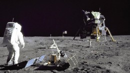 100 Kilometer auf dem Mond und 382 Kilo im Gepäck