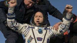 ISS-Raumfahrer sicher auf der Erde gelandet