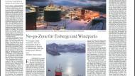 Ölboom im Eismeer