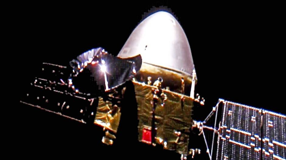 "Die Raumsonde Tianwen-1 ( ""Fragen an den Himmel"")"