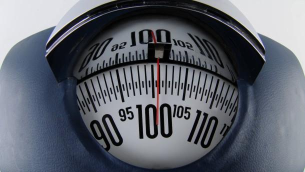 Leichtgewicht auf der Waage