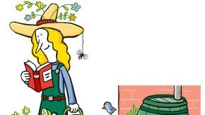 Passen Gärtnern und Schreiben eigentlich zusammen? Beides sind doch höchst kreative Tätigkeiten.