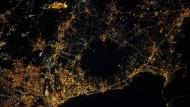Der Golf von Neapel mit dem Vesuv