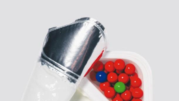Becher Joghurt
