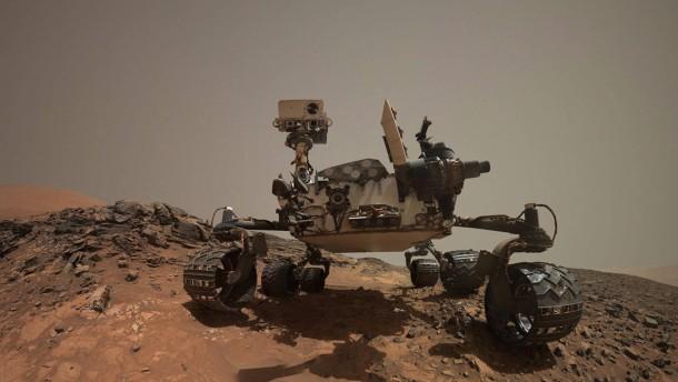 """""""Curiosity"""" macht ein außergewöhnliches Selfie"""