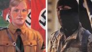 Das Potential steckt in uns allen, sagen Psychologen: Ein Hitlerjunge aus den 1930er Jahren, ein IS-Kämpfer von heute.