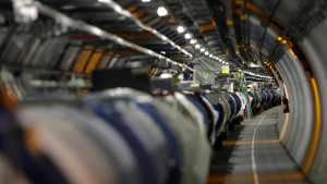 "Wiesel legt ""Large Hadron Collider"" lahm"