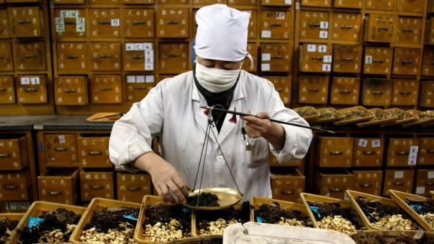 Chinesische Medizin schlägt auf die Leber