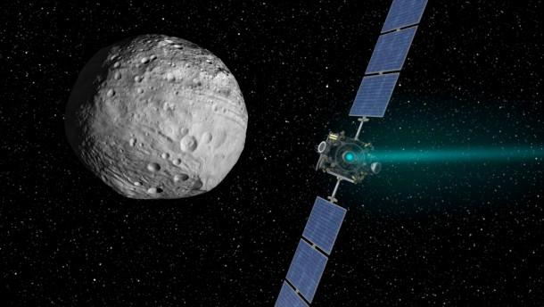 Raumsonde Dawn: Natur und Wissenschaft, Weltraum