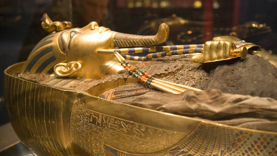 Der Gott, der golden blieb: Der zweite Sarg des Pharao Tutanchamun