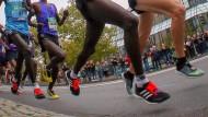 Bei einem Marathon bleibt viel Energie ungenutzt.
