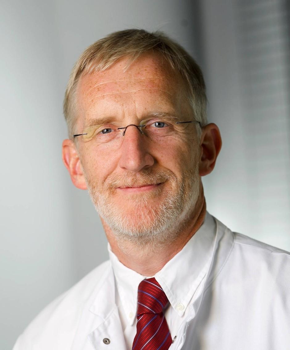Professor Christof von Kalle, Direktor am Nationalen Centrum für Tumorerkrnakungen (NCT) in Heidelberg.