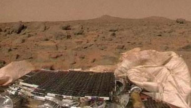 Sporen auf dem Mars?