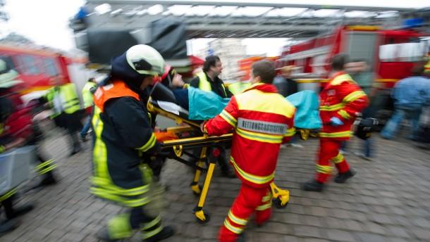 Massenhaft Verletzte und (fast) keine Zeit