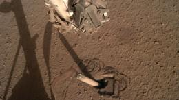 Auf dem Mars hat es sich ausgehämmert