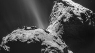 "Komet 67P/Tschurjumow-Gerassimenko, ""Tschuri"" genannt"