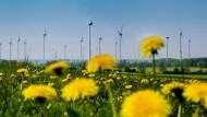 Zeit, dass sich was dreht: Der Wind bläst zwar auch im Süden, aber das Volk findet genügend Gründe, warum die Rotoren ausgerechnet dort nicht kreisen sollen. Windkraftgegner setzen sich immer wieder durch.