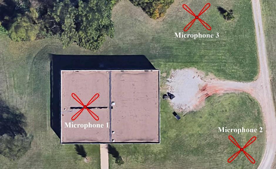 Mit der Mikrofonkonstruktion, die das menschliche Gehör nachbildet, lauschen Forscher der Entstehung von Tornados