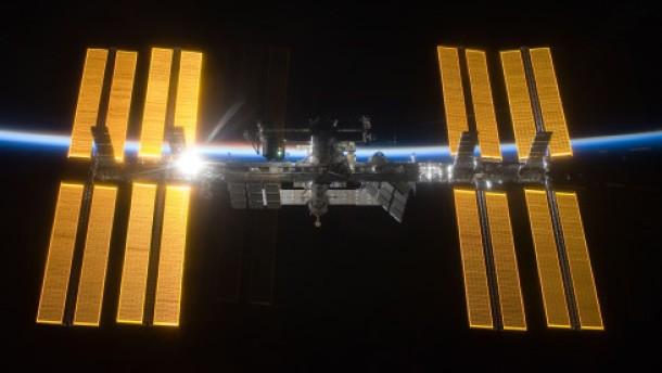 Ein Risiko nicht nur für die Raumstation
