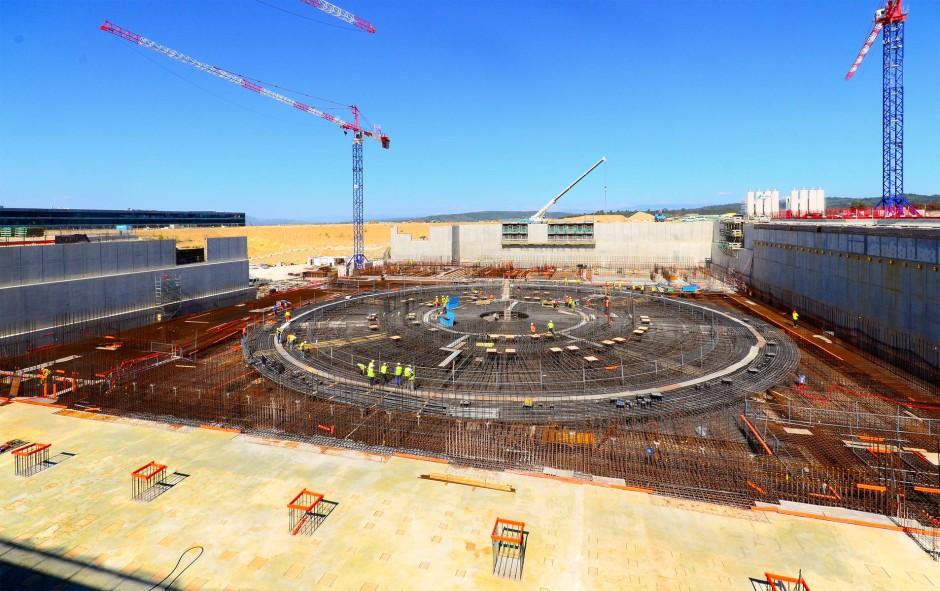 Hier entsteht der Fusionsraktor Iter.