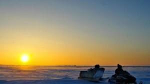 Inuit brauchen das Walfleisch zum Überleben