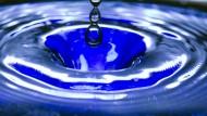 Selbst bei nur 20 Prozent Luftfeuchtigkeit kann der Wasserkollektor mit einem Kilogramm Material 2,8 Liter Wasser gewinnen.