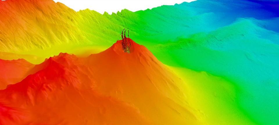Vulkane Philippinen Karte.Submarine Vulkane Der Schrumpfende Feuerberg Der Karibik