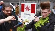 """Der 20. April ist """"420 day"""" - für Freunde des Kiffens ein willkommener Anlass, sich die eine oder andere Pfeife zu gönnen."""
