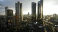 Auch Deutschlands Bankenstadt Frankfurt hat ein Problem mit dem Stadtklima.
