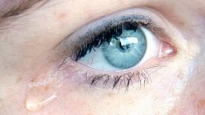 Machen Tränen krank?