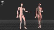 Die Tanz-Avatare ind er britischen Studie.