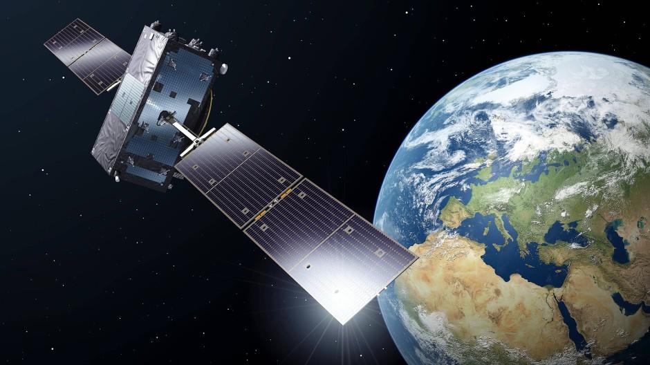 """Für ihren spektakulären Freilandversuch nutzten die Forscher den chinesischen Satelliten """"Micius"""", welcher um die Erde kreist."""