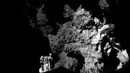 """Erstes Foto von """"Philae"""" auf dem Kometen 67P"""