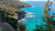 Ob Aphrodite an dieser Stelle dem Meer entstiegen ist?