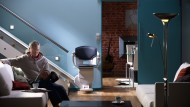 </br> Für jede Treppe gibt es einen passenden, platzsparenden und farblich abgestimmten Treppenlift.
