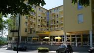 """Residenz & Hotel """"Am Kurpark"""" - Außenansicht."""