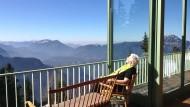 Die traumhaften Alpenkulisse sorgt für einen erholsamen Urlaub.