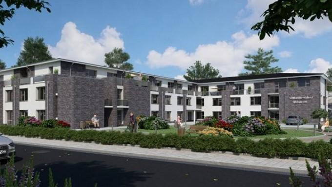 Neue Pflegeimmobilien wie in Hiddenhausen (NRW) bieten Einzelinvestoren bis zu 4,8 % Rendite.