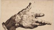 2,3 Millionen Pfund brachte in der historischen Auktion der Van-Regteren-Altena-Sammlung bei Christie's die spektakuläre Hand von Hendrik Goltzius.