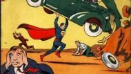 """Das Debüt-Heft des Superheldengenres: """"Action-Comics"""", Nummer 1"""