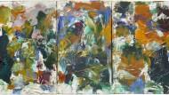 Joan Mitchells 33 mal 63,5 Zentimeter kleines Triptychon, gemalt um 1975, wurde für etwas weniger als die geforderten 230.000 Pfund verkauft.