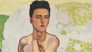 """Ferdinand Hodlers """"Der Frühling"""", Fassung IV, um 1912, Öl auf Leinwand, 106 mal 128,5 Zentimeter, für 4,1 Millionen Franken"""