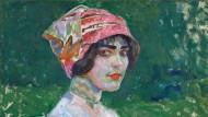 """František Kupkas Frauenbildnis  """"Der rosafarbene Hut"""" von 1906 brachte 280.000 Euro."""