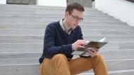 Nikolas Trischler, 21, studiert Geographie.