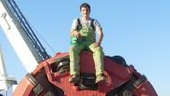 Jochen Kroll, 30, arbeitet als Ingenieur bei der Herrenknecht AG in Schwanau