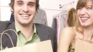 Glücklich shoppen: Manche Rabatte gelten nur für Studenten und schonen das Portemonnaie.