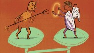 Wirtschaftsethik: Wie entscheidet man richtig?