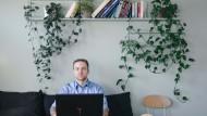 Der 31-jährige Daniel Schappler hat Mathe studiert und leitet heute als Data Scientist das Team Product-Intelligence bei Jimdo.